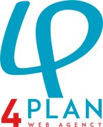 Logo 4Plan Automotive Web Agency qaudrato