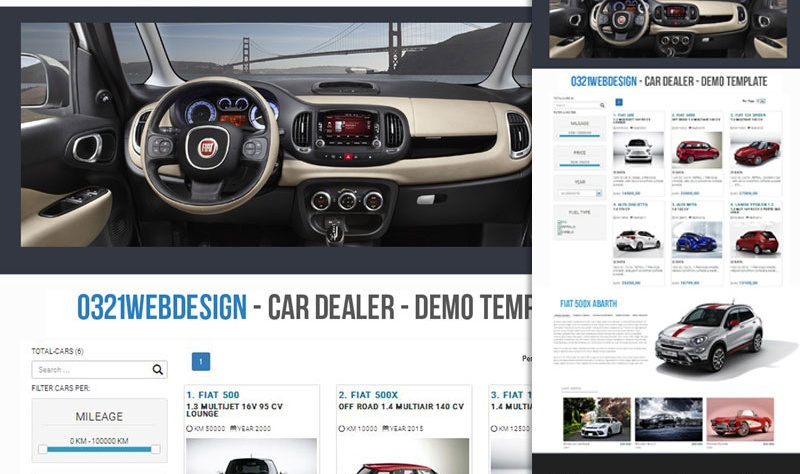 parco auto siti web automotive 4plan automotive web agency
