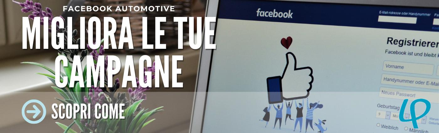 Come Facebook influenza le campagne automotive