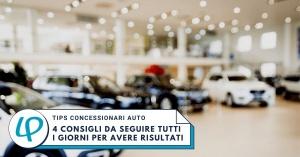4 consigli da seguire per i concessionari auto